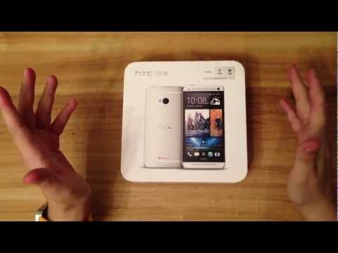 HTC One (a.k.a M7) - Silver White Unboxing - Closer look at 'unibody' Qatar