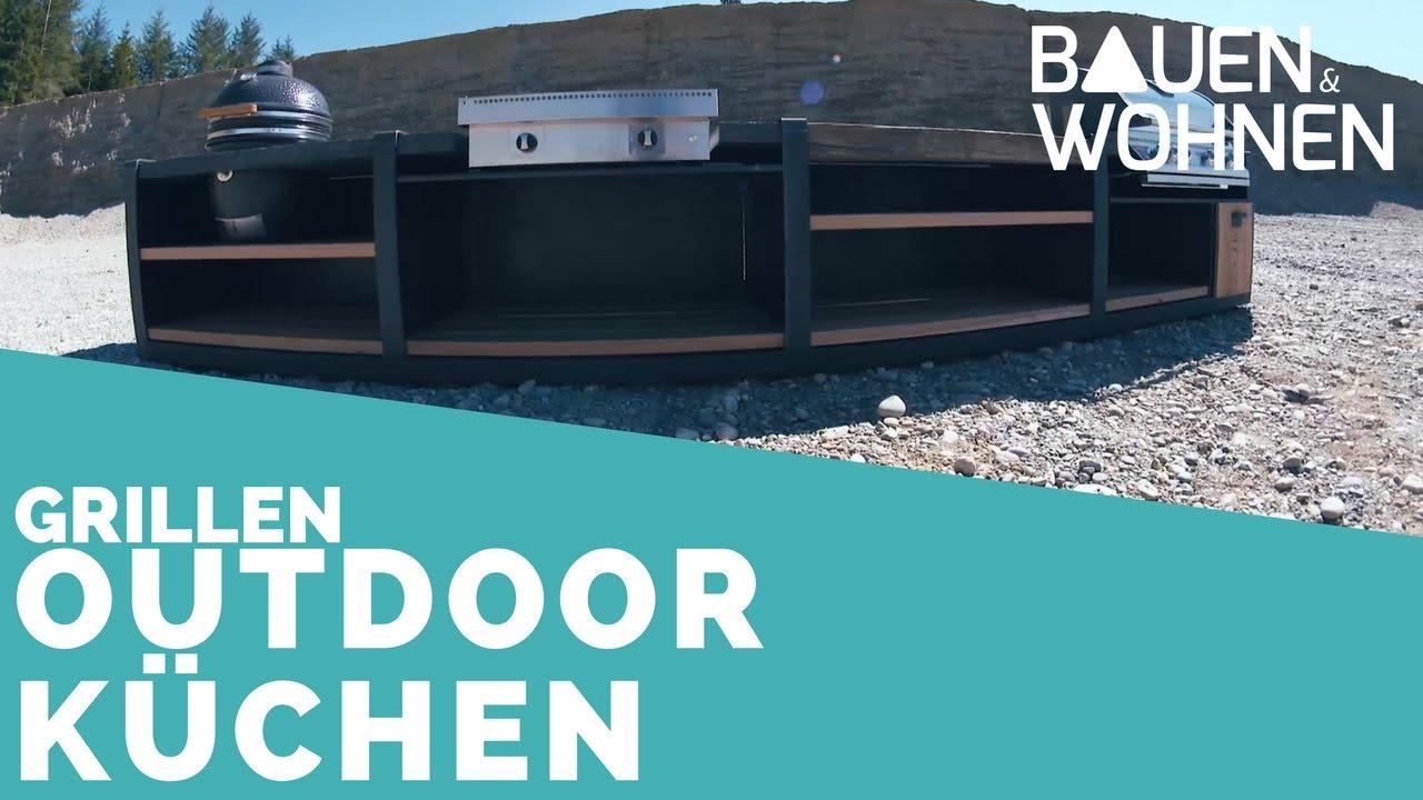 Outdoor Küchen Wasserburg : Trend outdoorküche wenn der grill zum designobjekt wird youtube