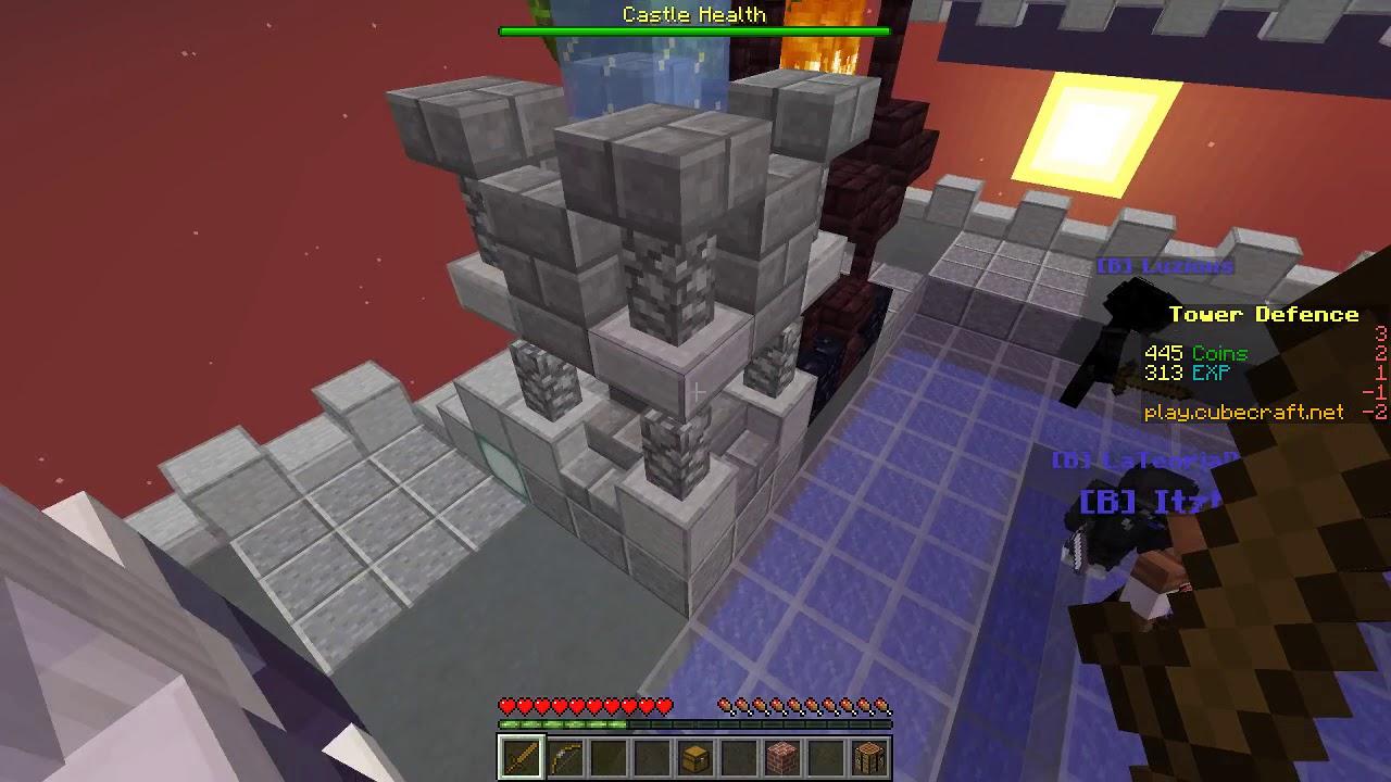 minecraft tower defence server