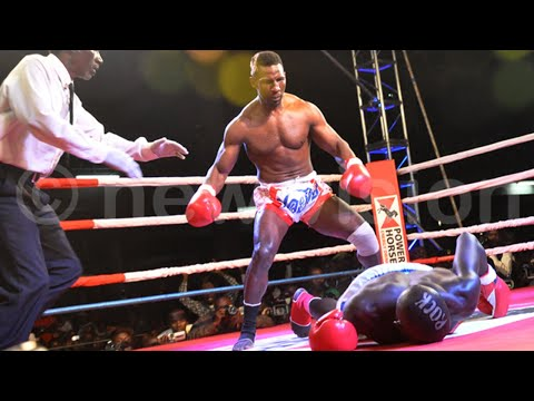 Golola K!lls Abu Kenyan in the Kickboxing Ring full fight