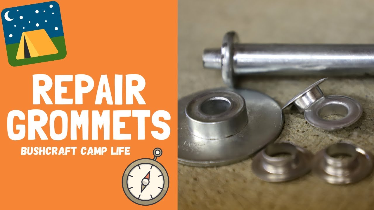 Tent and Tarp Repair with Grommets