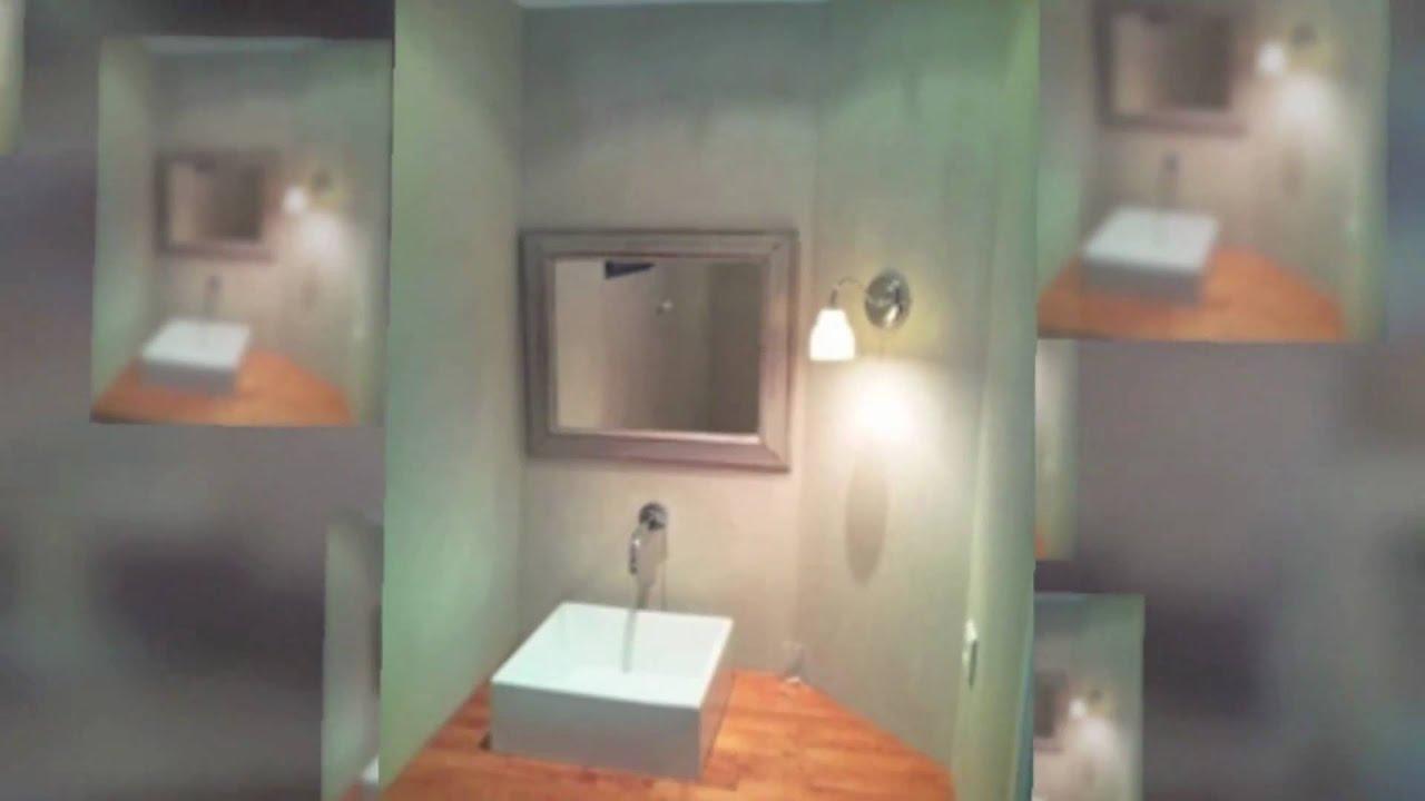 vidéo Béton Ciré dans salle de bains béton cellulaire  YouTube