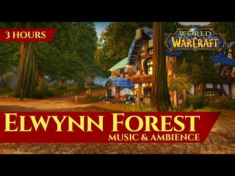 Vanilla Elwynn Forest Music & Ambience (3 hours, World of Warcraft Classic)