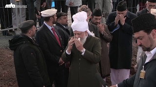 Lifetime Moments | Foundation stone ceremony in Marburg | #KalifdesIslam #KalifInDeutschland