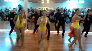 Island Touch Dance Teams Showcase - Performance Salsa Team 07-23-2010