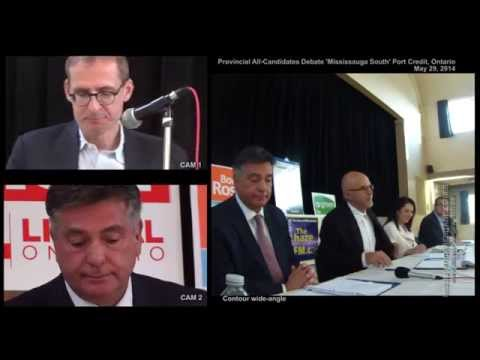 Port Credit Mississauga South All-Candidates Debate and Q&A (all 2 hours)