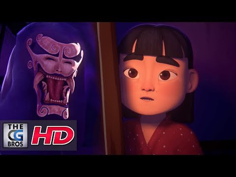 "CGI 3D Animated Short: ""A Lantern In The Night"" (Une Lanterne Dans La Nuit) - by ESMA 