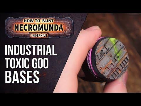 How to Paint Necromunda Bases (Part 1) - Toxic Goo Effect