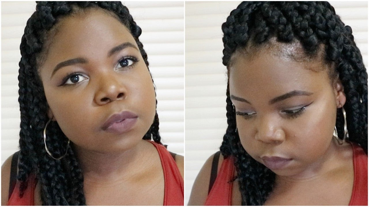 Box Braids Hairstyles Youtube: HOW TO: SHORT BOX BRAIDS TUTORIAL