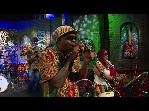 Ambush Reggae Band Performs `Roots Man`s Party` On The Twist Stage