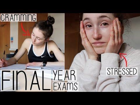 5 EXAMS IN 5 DAYS   MY FINAL YEAR EXAM SEASON DIARY 2019