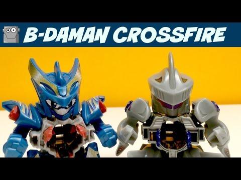 B-DAMAN CROSSFIRE Characters