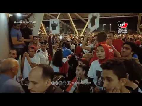 المصري اليوم:لحظة وصول بعثة مصر الأوليمبية من الأرجنيتن عقب تحقيقها إنجاز تاريخي