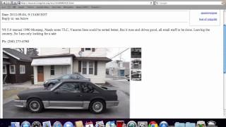 Craigslist Muncie Indiana Used Cars and Trucks - For Sale by Owner Vehicle Options in 2012