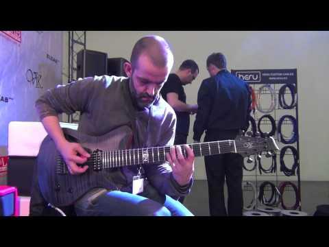 """Musikmesse'13 - ViK Caprice T7 """"TEN"""""""