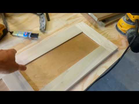 Using Pocket Holes To Build Shaker Style Cabinet Doors Youtube