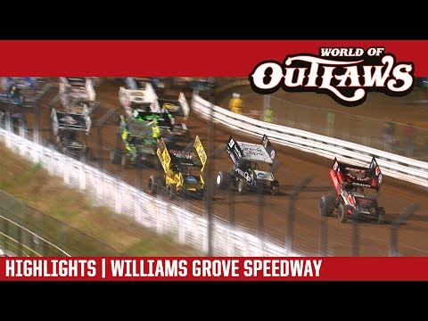 World of Outlaws Craftsman Sprint Cars Williams Grove Speedway May 19, 2017 | HIGHLIGHTS