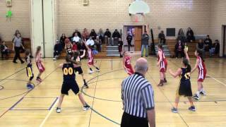 1 18 2014 Peters Township 5th Grade Girls Travel vs Mt  Lebanon Gold   Second Quarter