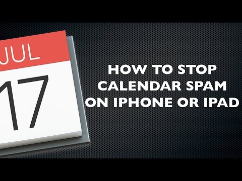 How to Stop Calendar Spam on Your iPhone or iPad