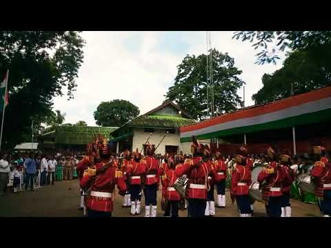 St louis high school band ferformence at circle office chhaygoan(assam_india)