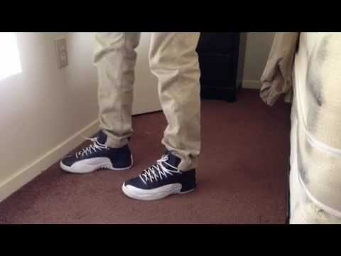2f8186ea87b ... germany jordan 12s obsidian on feet review youtube 3bda0 98b2f
