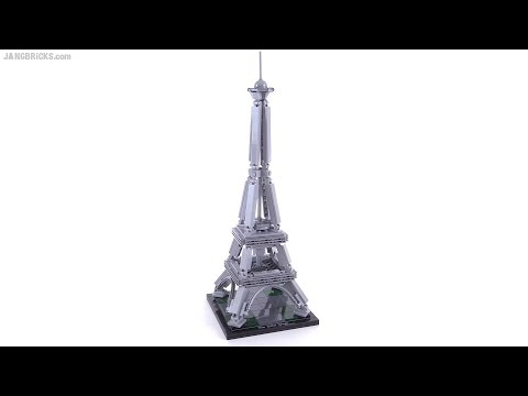 lego architecture the eiffel tower review! set 21019 - youtube