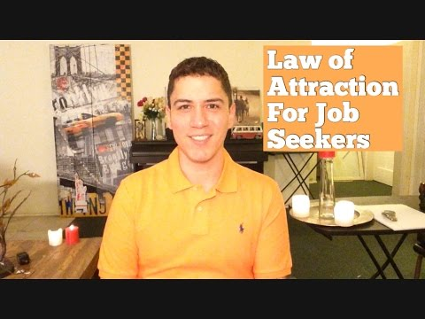 Law Of Attraction For Job Seekers