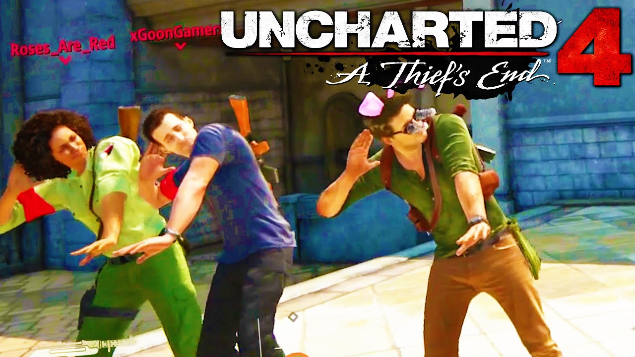 Uncharted four: Operating Man & Random Humorous Moments!