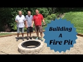 How to build a Fire Pit in the Backyard DIY outdoor