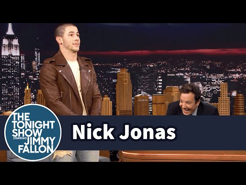 Nick Jonas Explains His NARB at the Young Hollywood Awards
