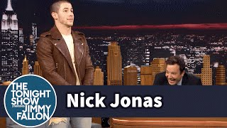 Nick Jonas Explains His NARB at the Young Hollywood Awards