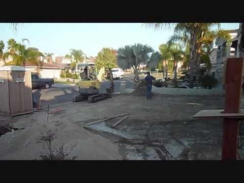 New House - Week 30 – Master Shower, Laundry Cabinets, Trenches for Utilities