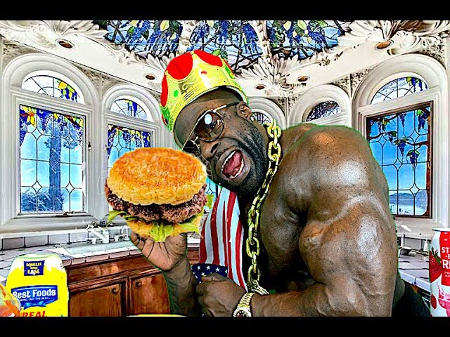 Hyphy Burger 1 000 Calories Cooking With Kali Muscle