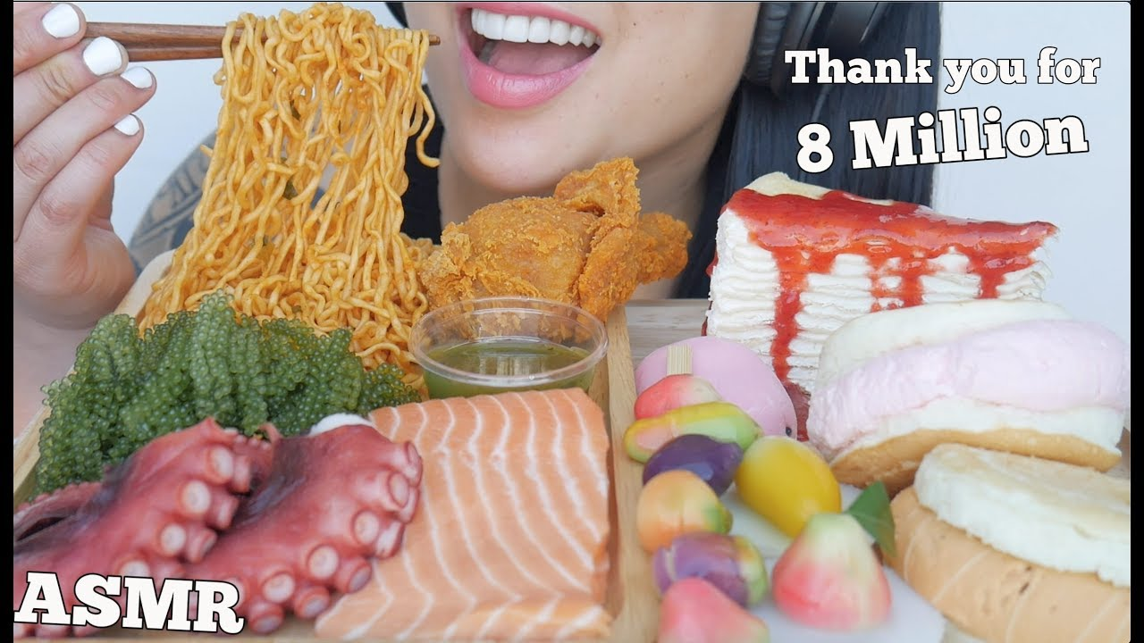 Asmr Most Popular Food On My Channel Thank You For 8 Million Eating Sounds No Talking Sas Asmr Youtube My name is sas and i love making videos :). asmr most popular food on my channel thank you for 8 million eating sounds no talking sas asmr