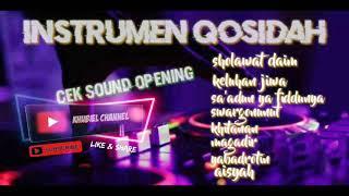 Download instrumen qosidah, cek sound opening, suaranya mantap.
