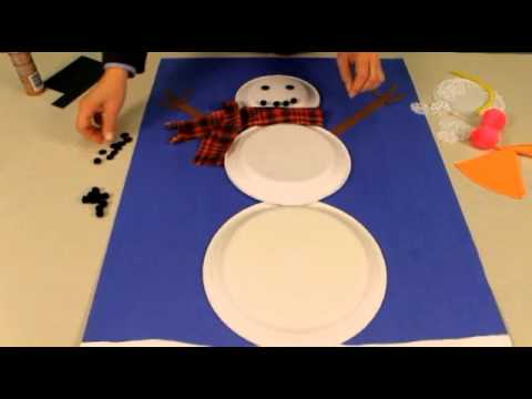 Snowman For Classroom Door Youtube