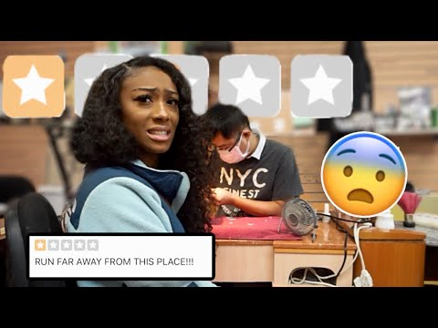 GOING TO THE WORST REVIEWED NAIL SALON IN MY CITY (ATLANTA)