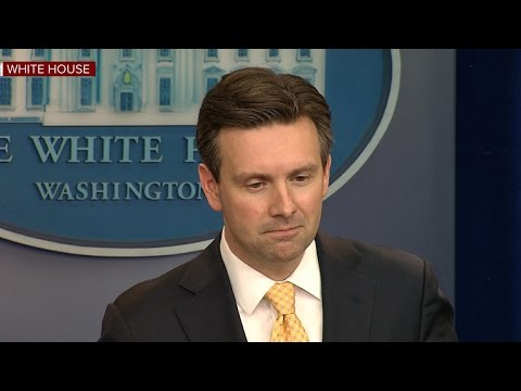 Josh Earnest's final White House press briefing
