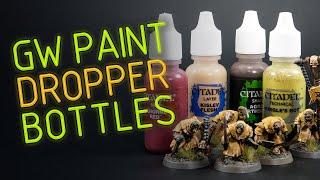 Dropper Bottle Paint Decanting Tutorial