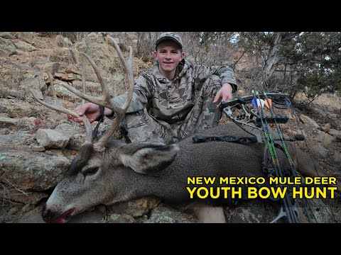 Youth Bow Hunt, New Mexico Mule Deer