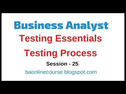 Testing Essentials for Business Analyst Tutorial | Test Case | Test Script | Defect Analysis thumbnail