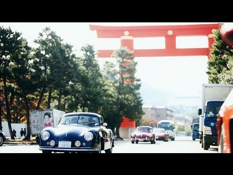 Porsche 356 Holiday meet-up in Kyoto.