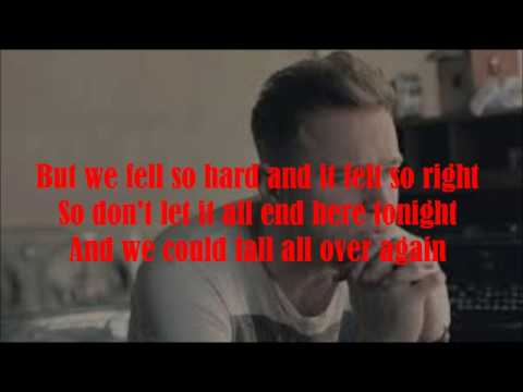 Olly Murs Don't Say Goodbye