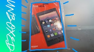 Amazon Fire HD 8 with Alexa | Unboxing & Setup