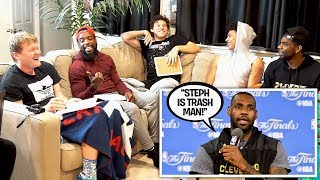 GUESS THAT NBA PLAYERS VOICE With 2HYPE feat. Jesser, LSK, Jiedel, & Mal!