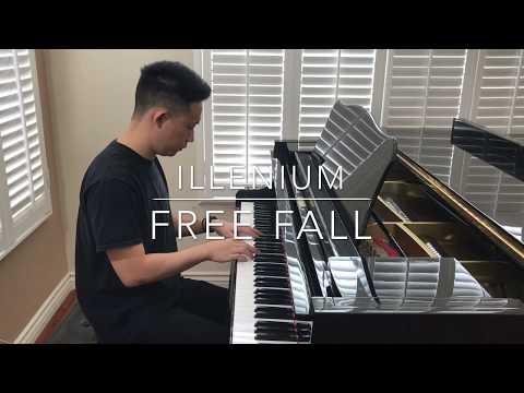 Illenium - Free Fall (piano cover) AWAKE album