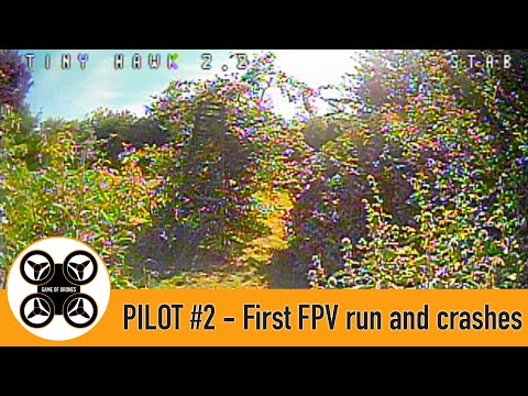 Фото Game of Drones - Pilot #2 First FPV flight and crashes