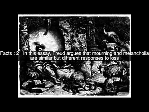 Mourning and Melancholia Top  #5 Facts