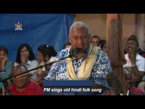 PM sings old hindi folk song