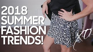 Summer Fashion Trends | 2018